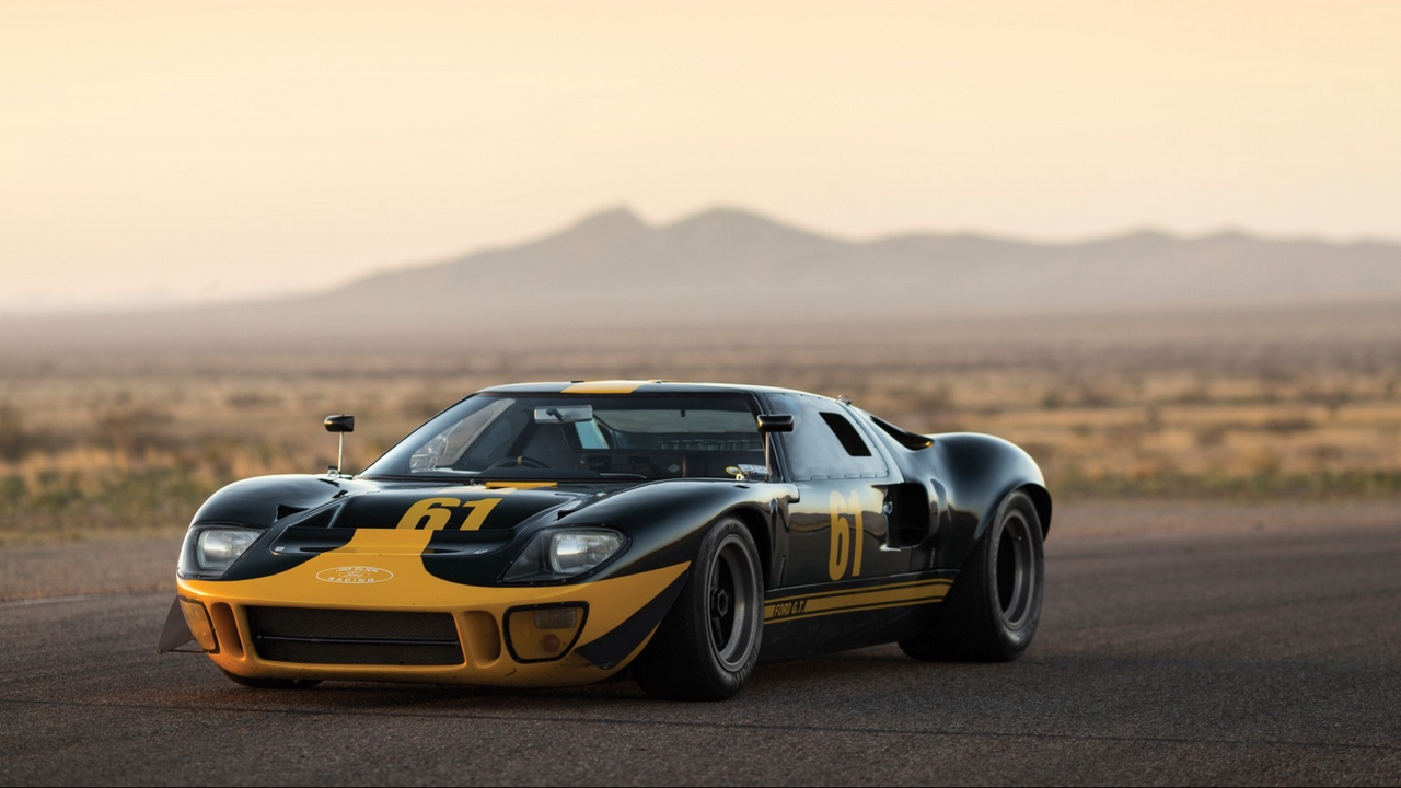 Preview wallpaper 1966, ford, gt40, sports car