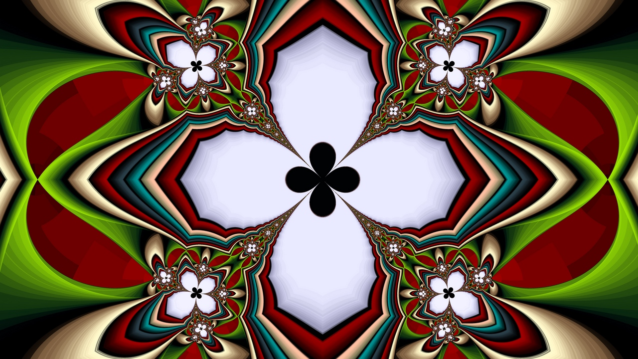 Preview wallpaper abstraction, colorful, fractal, pattern, symmetry