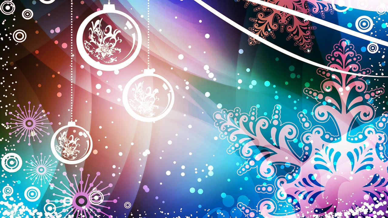 Preview wallpaper abstraction, background, new year