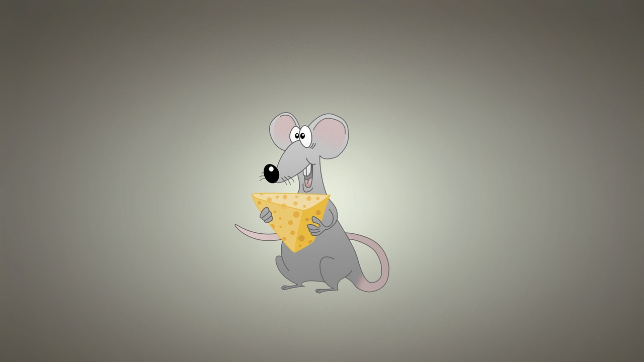 Preview wallpaper animal, background, cheese, mouse