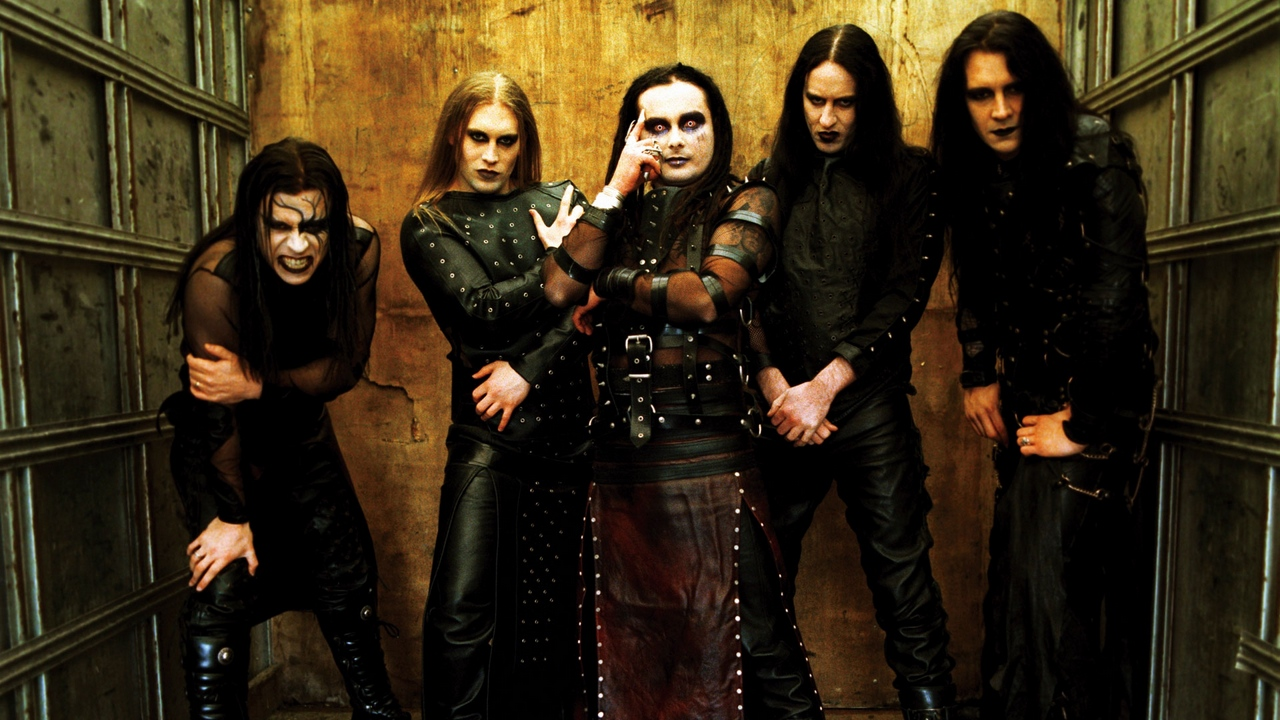 Preview wallpaper band, cradle of filth, eyes, rockers