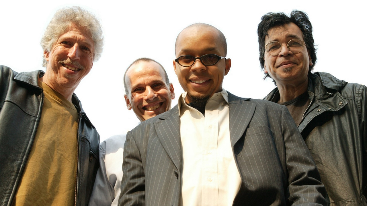 Preview wallpaper band, glasses, smile, suits, yellowjackets
