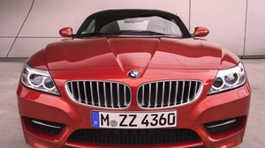 Preview wallpaper 2014, bmw, bmw z4, front bumper, red