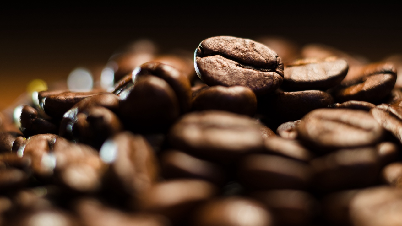brown coffee roasted beans