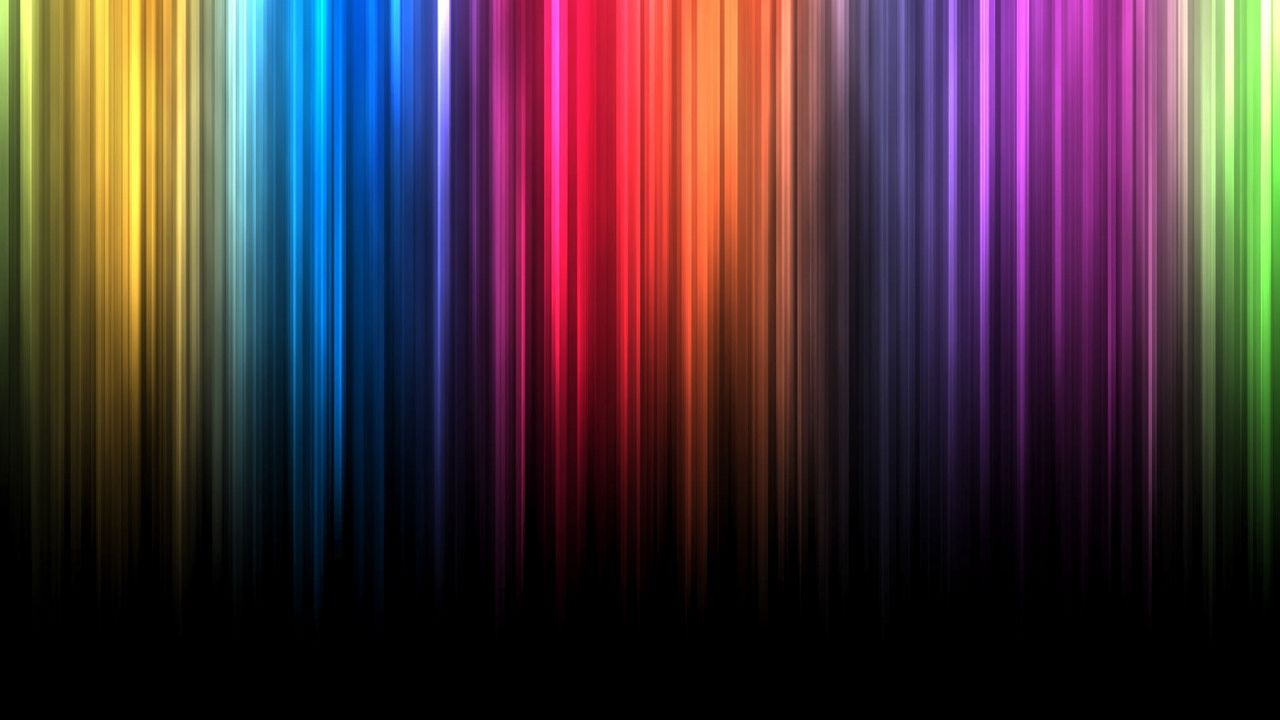 colorful bright shadow vertical lines