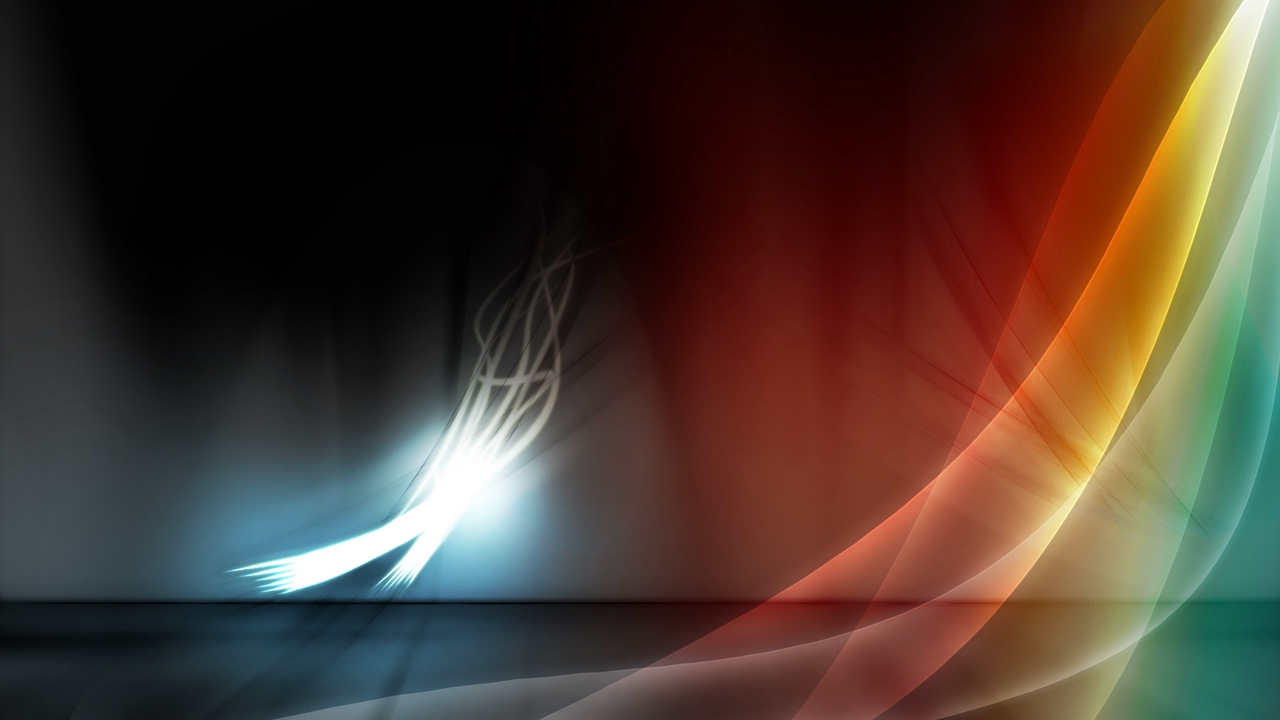 Preview wallpaper bright, feather, form, lines, wavy