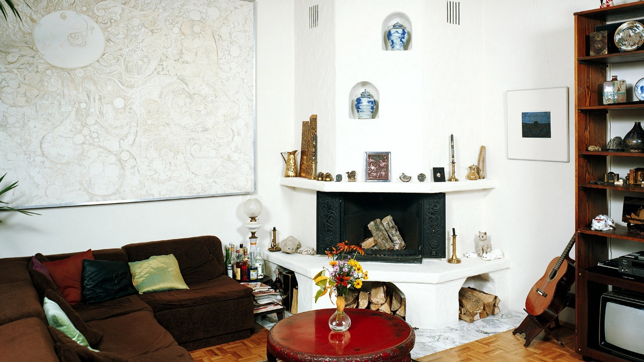 Preview wallpaper fireplace, furniture, interior, sofa