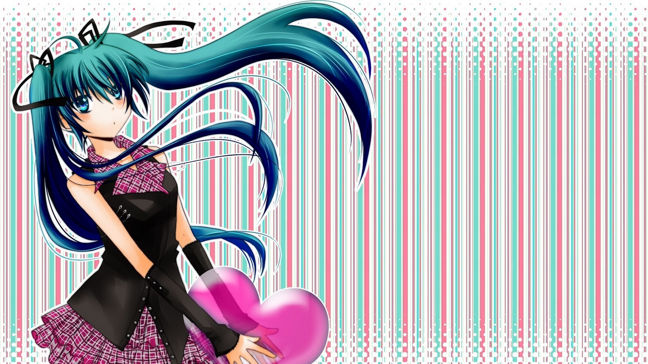 Preview wallpaper background, girl, hair, heart, wind