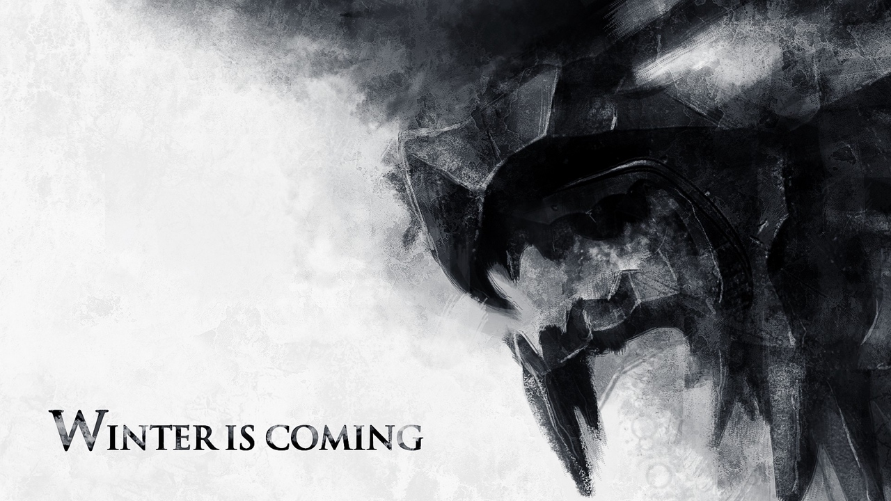 Preview wallpaper art, game of thrones, house stark, winter coming
