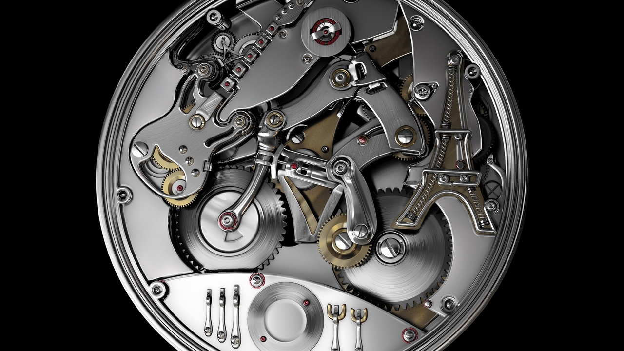 Preview wallpaper device, mechanism, metal, particles