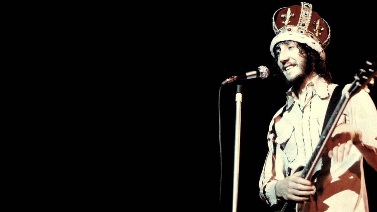 Preview wallpaper crown, guitar, microphone, pete townshend, smile