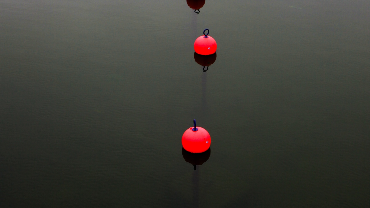 Preview wallpaper buoy, restriction, sea