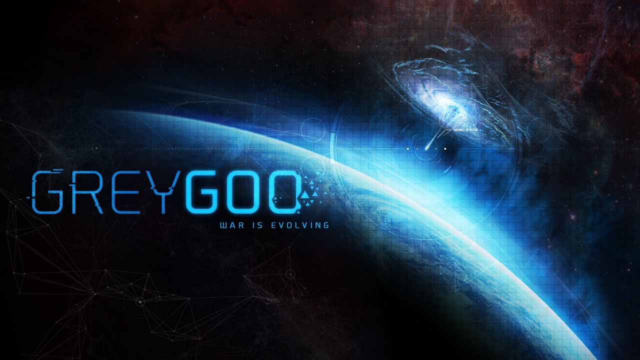 Preview wallpaper grey goo, rts, space