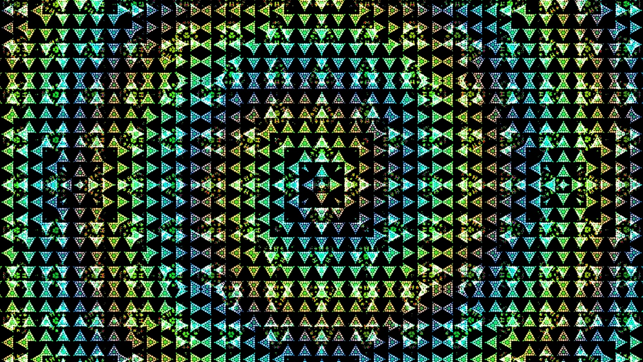 Preview wallpaper colorful, cubes, patterns, shape, triangles