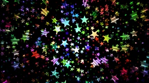 Preview wallpaper bright, colorful, shiny, stars