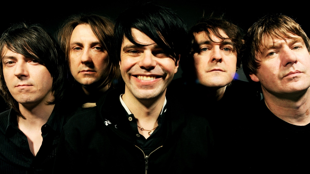 Preview wallpaper band, faces, look, smile, the charlatans
