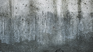 Preview wallpaper concrete, gray, stains, texture, wall