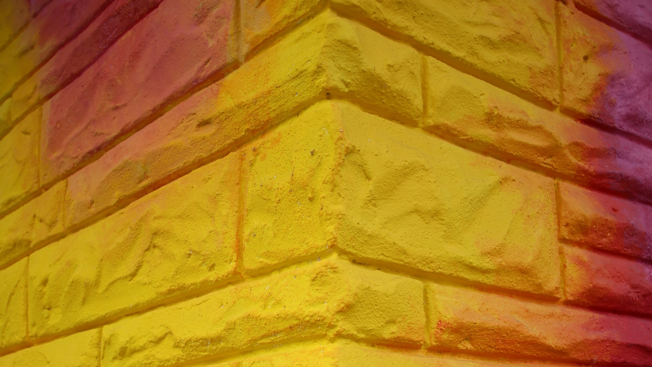 stone paint wall colorful texture