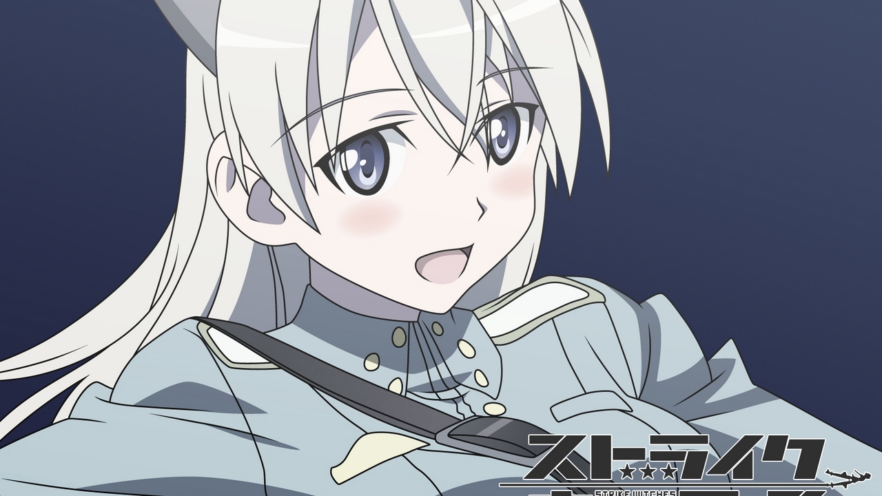Preview wallpaper eila ilmatar juutilainen, girl, opened mouth, strike witches