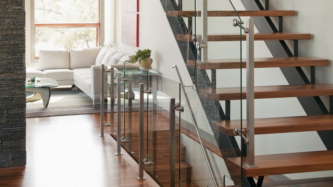 style staircase living room furniture