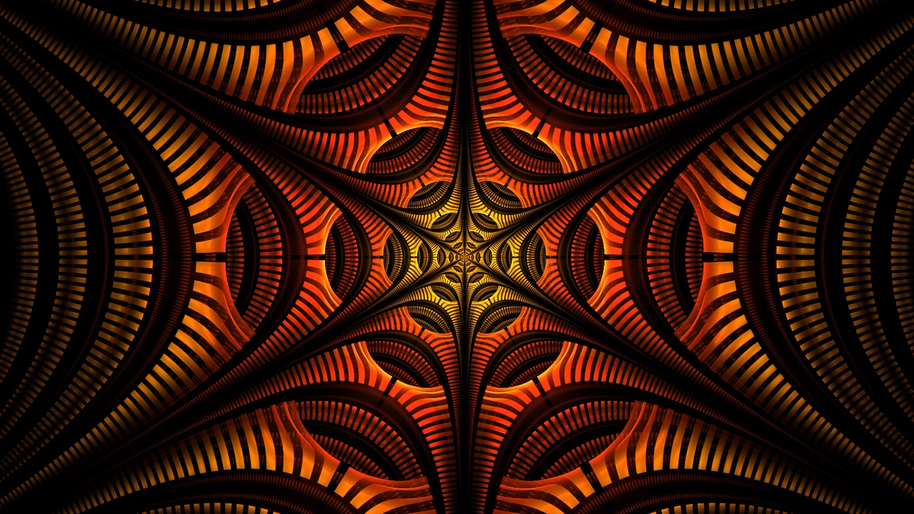 Preview wallpaper abstraction, fractal, pattern, symmetry