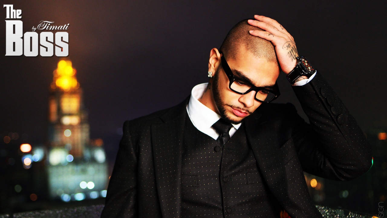 Preview wallpaper city, suit, tattoo, timati, watches
