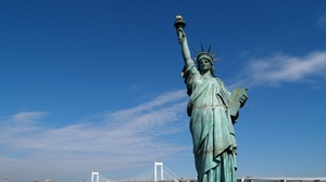 Preview wallpaper new york, statue of liberty, united states