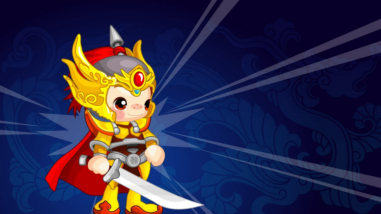 Preview wallpaper background, colorful, costume, warrior