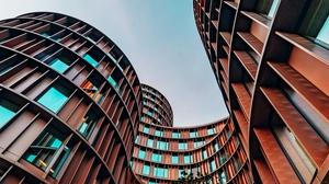 Preview wallpaper architecture, building, facade, shape, winding