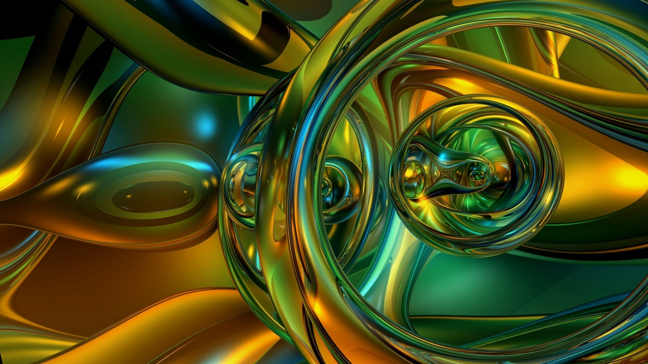 Preview wallpaper device, green, merger, shiny, yellow