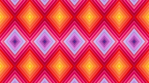 Preview wallpaper bright, patterns, rhombus, texture