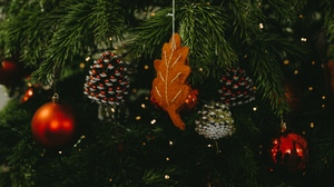 Preview wallpaper christmas, christmas tree, decoration, holiday, new year