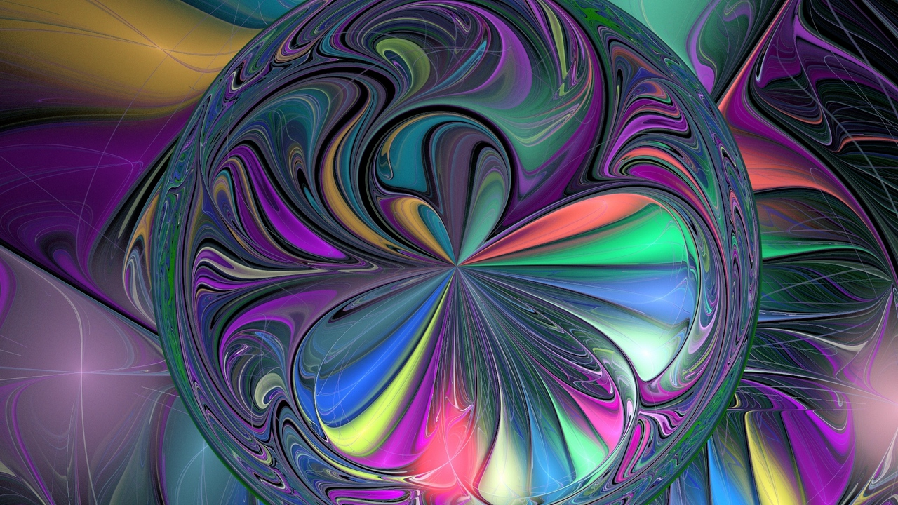 colorful background ball