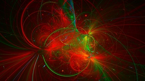 Preview wallpaper abstraction, colorful, fractal, glare, lines