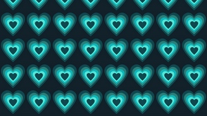 Preview wallpaper background, glow, heart, surface, texture