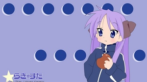 Preview wallpaper apple, girl, hiiragi kagami, lucky star, sports suit