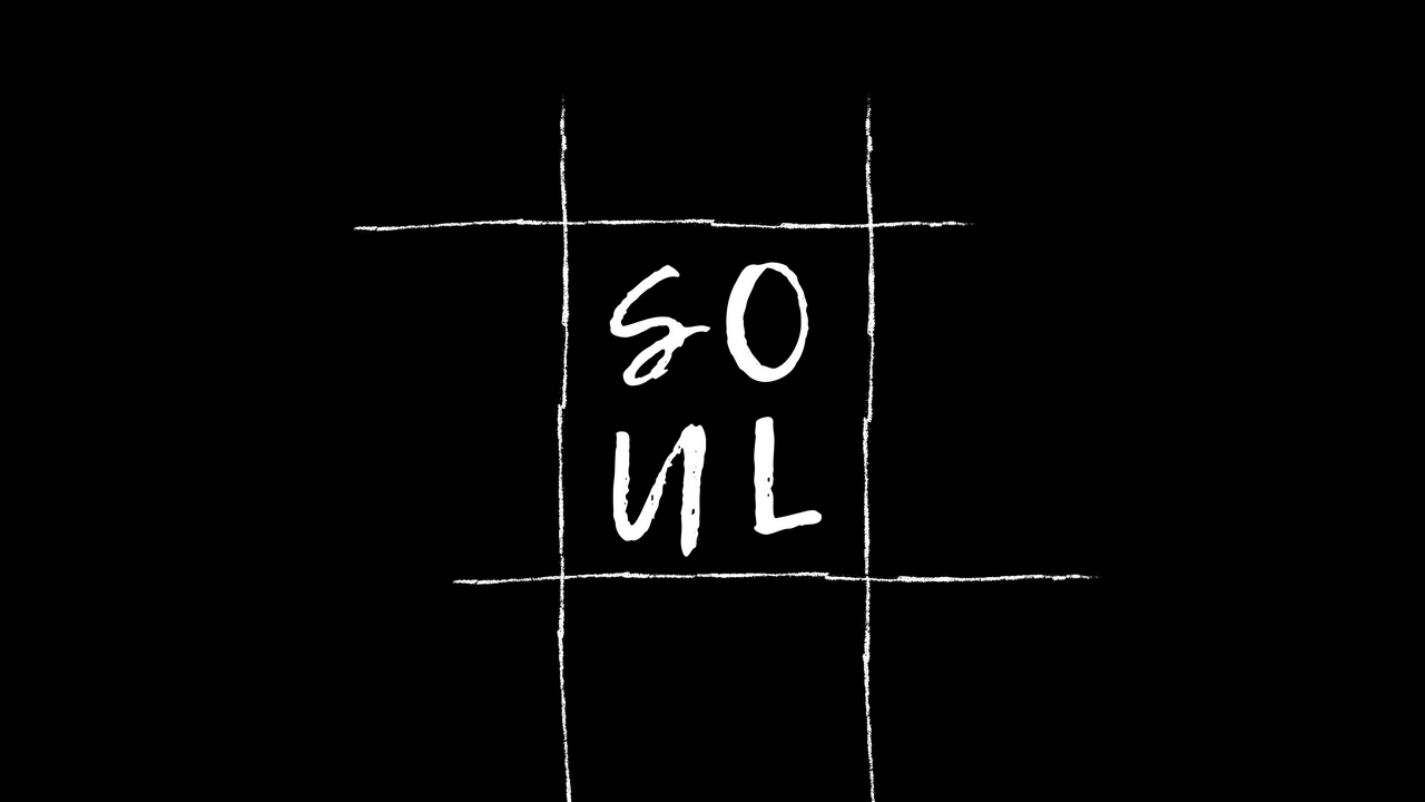 letters word soul bw