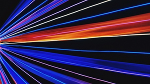 Preview wallpaper color, light, neon, rays, scattering