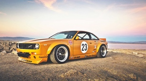 Preview wallpaper nissan 240sx, rocket bunny, side view