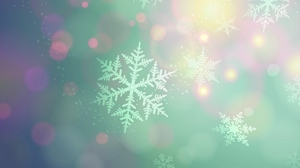 Preview wallpaper background, light, snowflakes, spot