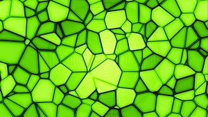 Preview wallpaper green, light green, squares, texture, triangles