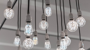 Preview wallpaper electricity, led, light, light bulbs, wires