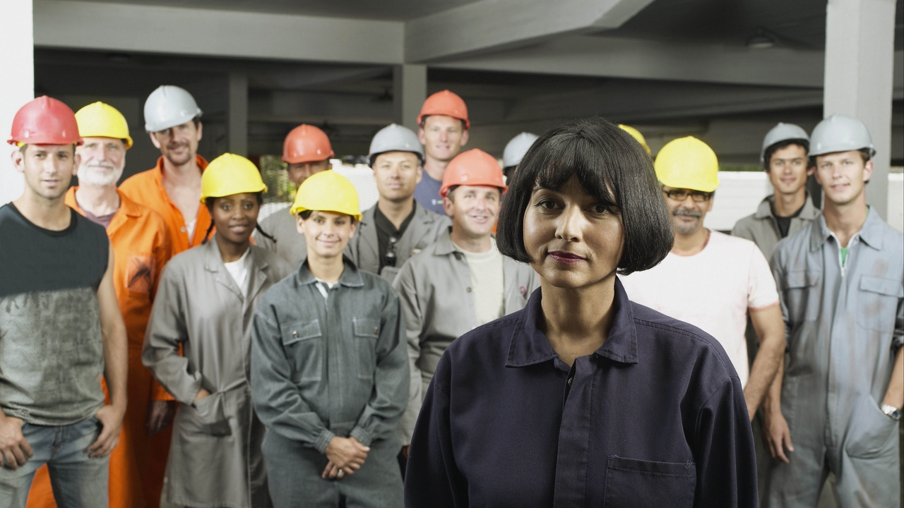 woman foreman workers