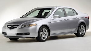 Preview wallpaper 2004, acura, cars, side view, silver metallic, style, tl