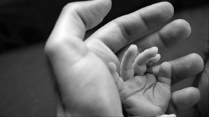 Preview wallpaper adult, affection, care, child, hands