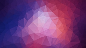 Preview wallpaper geometric, patterns, polygon, triangles
