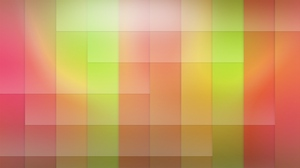 Preview wallpaper green, red, square, yellow