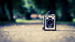Preview wallpaper camera, old, retro, style, surface