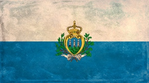 Preview wallpaper background, flag, paint, san marino, stain, texture