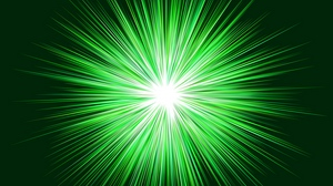 Preview wallpaper bright, green, rays, shine